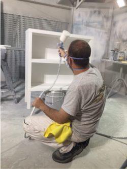 Paint Spraying Furniture
